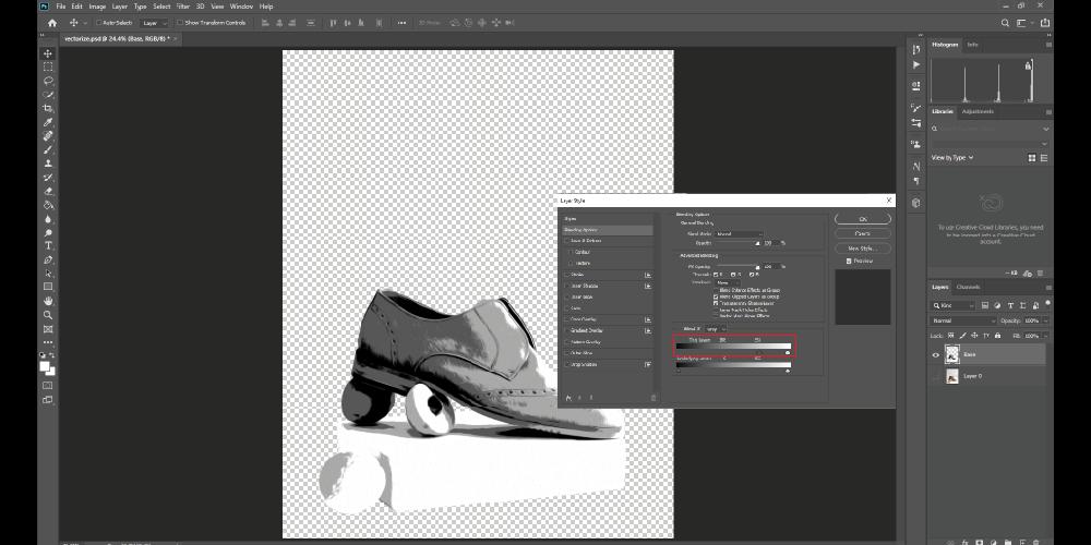 Layer blending option_white