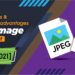 advantages and disadvantages of jpeg